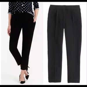 J.CREW COLLECTION Black Curator Pants